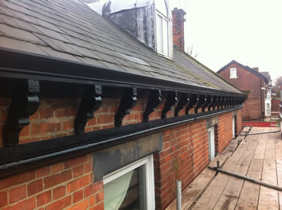 Barnsley Road Restoration Sheffield Seamless Guttering